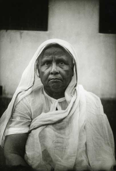 My grandmother. Dhaka 1935. Golam Kasem.