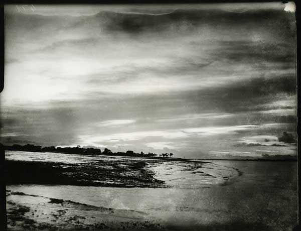 Sky and water. 1923, Midnapore. 4 x 5 sheet film. Golam Kasem