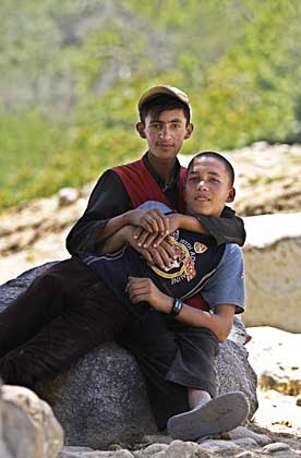 Two boys