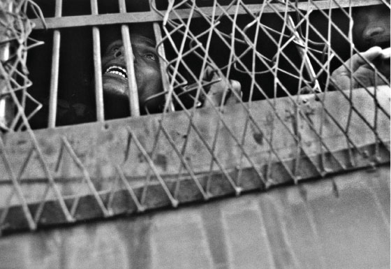 Student in Prison Van