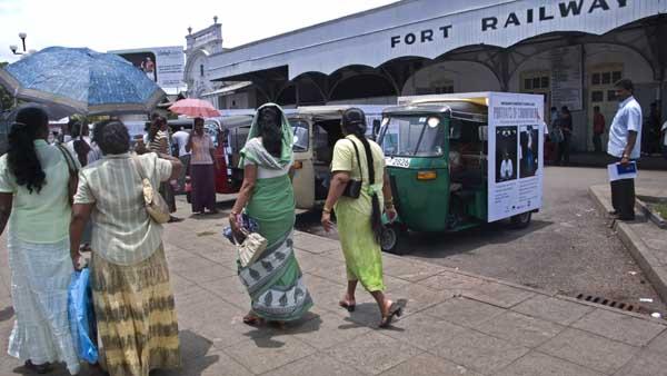 Tuk Tuk in Fort, Colombo