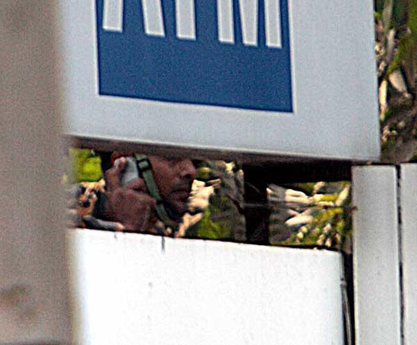 BDR sniper. Shahidul Alam/Drik/Majority World