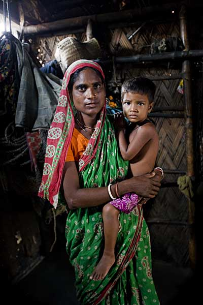 Rubel's mother does not like her son doing such dangerous work, but accepts that the family has no choice.