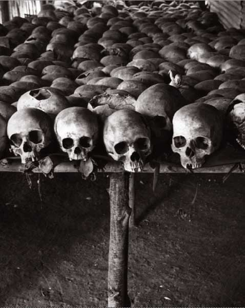 A MEMORIAL to the 1994 Rwanda genocide at the Church of Ntarama, in Kigali Province. Photograph by Raymond Depardon
