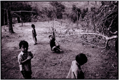 Burmese refugee children. Jerome Ming