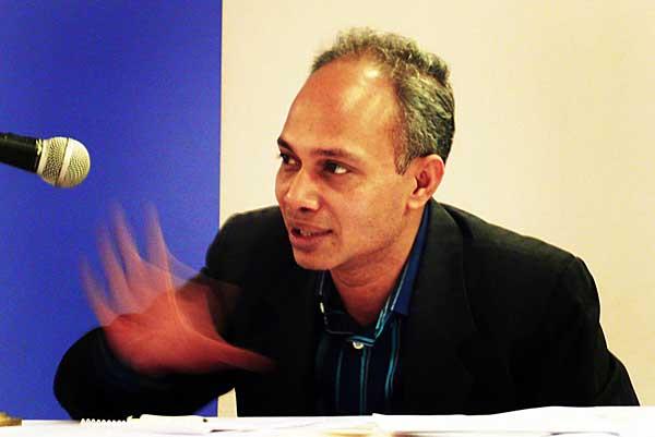 Nurul Kabir. Editor New Age. Shahidul Alam/Drik/Majority World