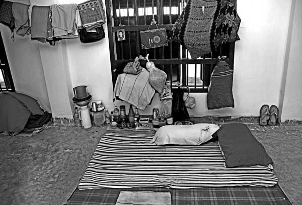 Having spent a year in prison already, 25-year-old Rahima still cannot reconcile with her living conditions. �The air, the walls, the people, the place- all of it has been a shock for me,� she says. She struggles to wear the blank and emotionless expression that the rest of her inmates wear every day, yet every time she speaks of her experience in jail, she fights back tears.