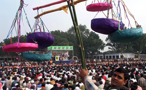Jamaat, receiving only two seats, were completely routed. Rajshahi. Iqbal Ahmed.