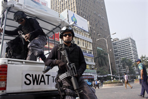 SWAT team. Shafiqul Islam Kajol