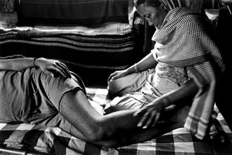 It would not occur to a grandmother to leave her children in an orphanage after the death of her sons and daughters-in-laws. Dayanita Singh/NB Pictures