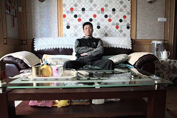 Liu Junyi's living space. Gai Yuqiang