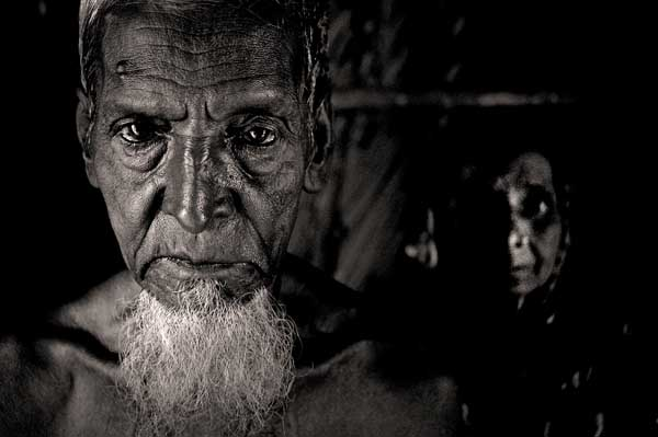 113 years old Monu Mia is still owed 60-65 thousand taka as his due overtime payment. Munem Wasif