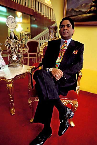 The diamonds on the shoes of 'prince' Moosa Bin Shamsher is said to be worth three million dollars. Dhaka. Bangladesh. Shahidul Alam/Drik/Majority World