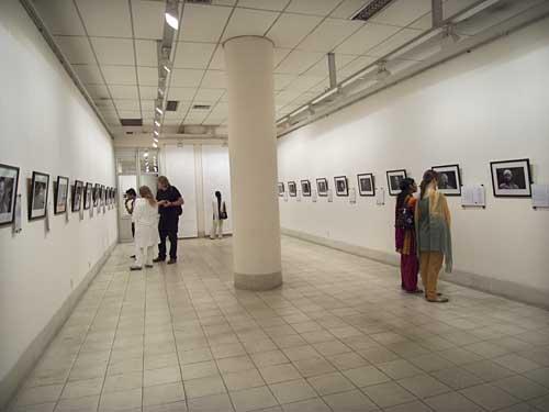 Tom Hatelstad's exhibition at Shilpakala Academy. Shahidul Alam/Drik/Majority World