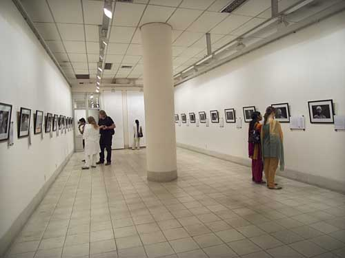 Tom Hatelstad's exhibition at Shilpakala Academy. Shahidul Alam/Drik/Majority World
